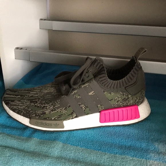 online store 34c1d ee347 Nmd primeknit camo and pink